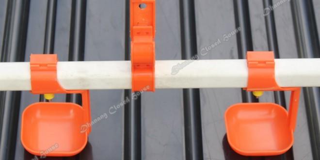 Nipple Drinker Drip Cup Import Oranye - Dhanang Closed House Properties