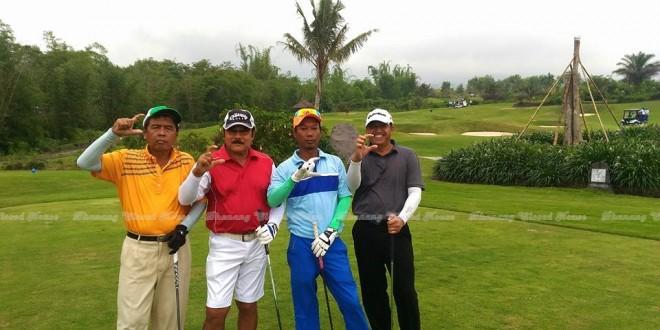 Merapi Golf with Watimpres Jend Purn Subagyo HS