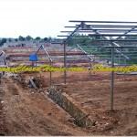 Proses Konstruksi 2 Lantai - Konstruksi Baja Breeding Farm 2 Lantai